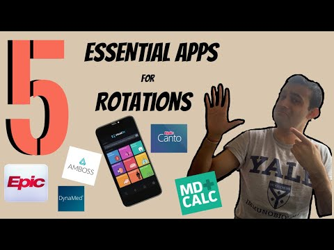 Top 5 MUST-HAVE CLINICAL Apps for ROTATIONS (Med Students   PA   Nursing)