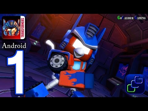 Angry Birds Transformers Android Walkthrough - Gameplay Part 1