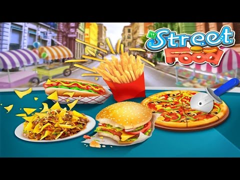 Street Food Stand Cooking Game Android Gameplay