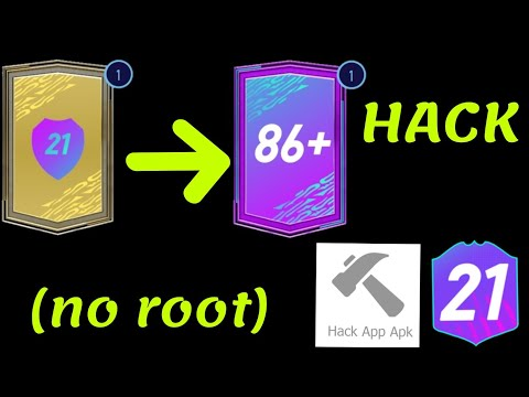 Hack Pack opener for fut 21 unlimited cases (no root)
