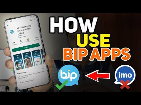 BiP Messaging Voice and Video Calling App   Bip Messenger App Review 2021  