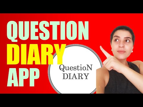 Question Diary | Best Decision App Ever!