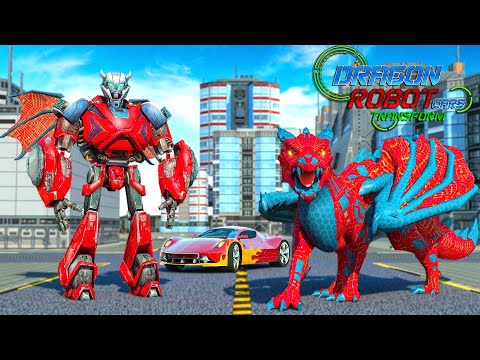 video review of Dragon Robot Car transform