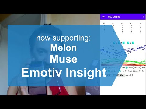!!! Now mind control !!! download my Emotiv Insight   Muse   Melon Android app