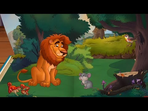 The Lion and the Mouse - Fairy Tales - Children's Books, Stories and Games