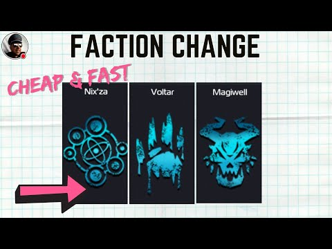 Faction Change the Cheapest and Fastest way possible