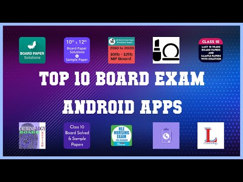 Top 10 board exam Android App | Review