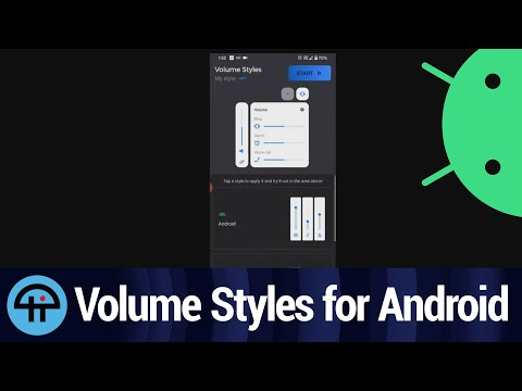 Volume Styles for Android