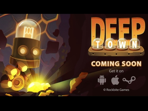 Deep Town: Mining Factory - Android Gameplay (by Rockbite Games)