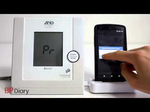 video review of Blood Pressure(BP) Diary