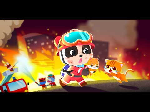 video review of Baby Panda's Fire Safety