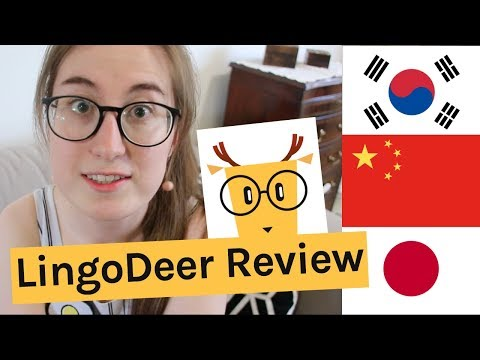 Best app for learning Korean, Japanese and Chinese! LingoDeer tour & review