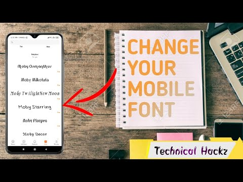 How To Change Font Style In Any MI Phones |