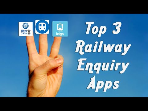 Top 3 Railway Enquiry Android Apps 🔥🔥