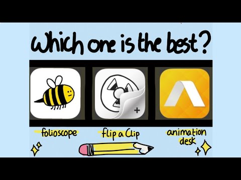 TESTING OUT 3 FREE ANIMATION APPS PT. 2 | Folioscope | FlipaClip | Animation Desk