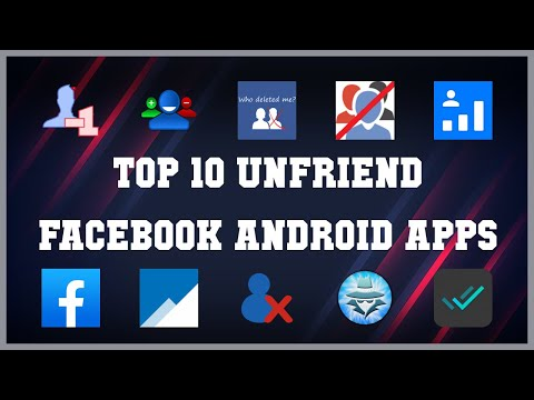 Top 10 Unfriend Facebook Android App | Review