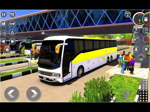 Furious Bus Parking Bus Driving Adventure 2020   Android GamePlay   Top Galaxy Game