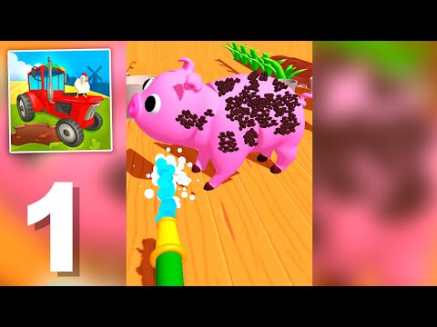 Perfect Farm - Gameplay Walkthrough 1-40 Levels (Android)