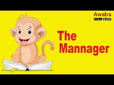 The Mannager | English Stories | Awabe