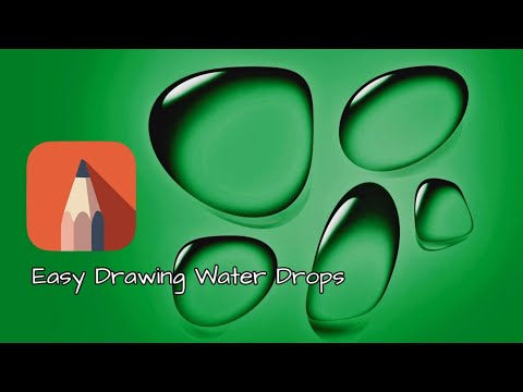 easy drawing water drops on android #sketchbook-pro