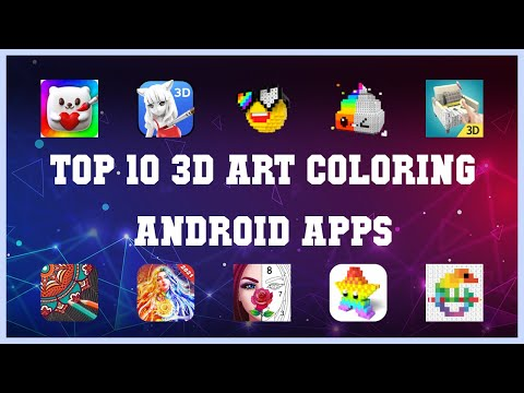 Top 10 3D Art Coloring Android App   Review