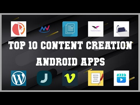 Top 10 Content Creation Android App | Review