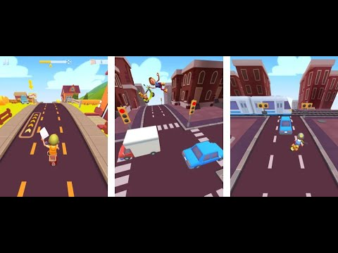 Deliveryman: Motorcycle Racing - Gameplay IOS & Android
