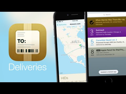 App Spotlight: Deliveries - A Package Tracker