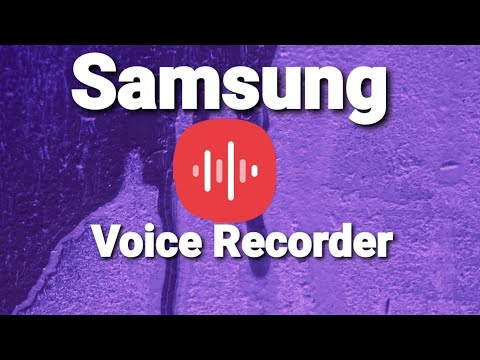 Samsung Voice Recorder - Very Important Update