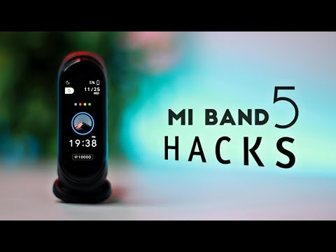 Mi Band 5 Hidden Features   ULTIMATE HACKS | Maps, Camera and more !
