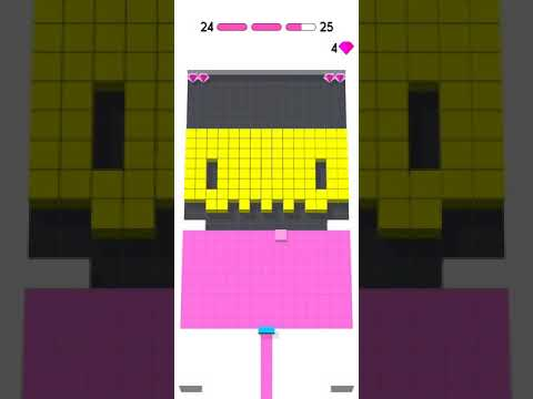 Color Fill 3D - All Levels Gameplay Android, iOS