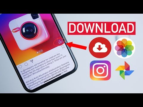 How To Save Instagram Videos & Photos on iPhone/Android! (2021)