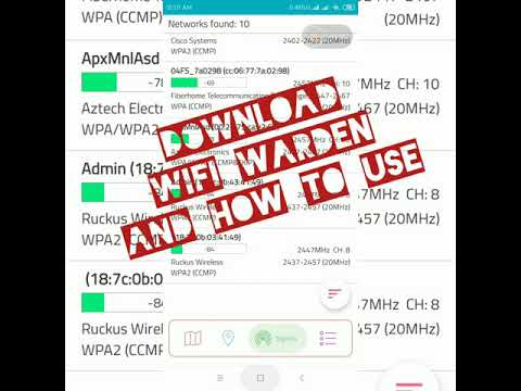 Download Wifi Warden and Use