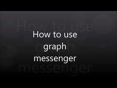 How to use Graph messenger (on Android phone)