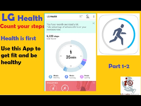 LG Health Count Your Steps Video 1-2