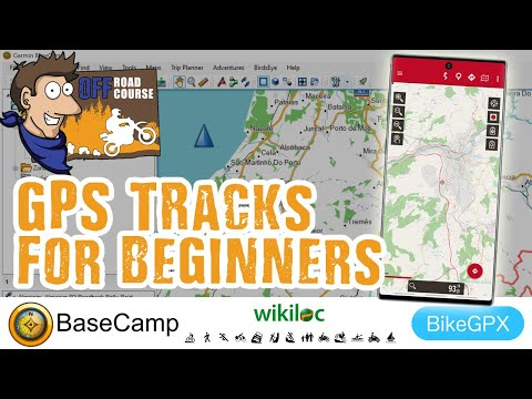 GPS Tracks How to - Wikiloc, Basecamp and BikeGPX (Android and iphone)