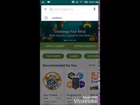 how to earn money from android apps - Cashboss