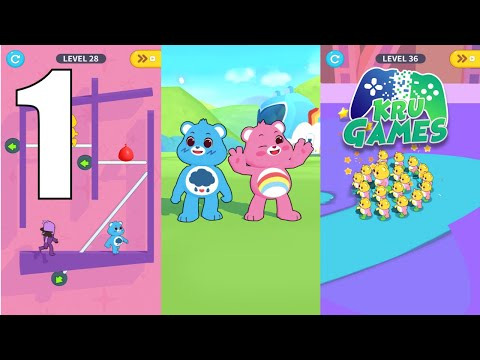 Care Bears: Pull the Pin Gameplay Walkthrough #1 (Android, IOS)