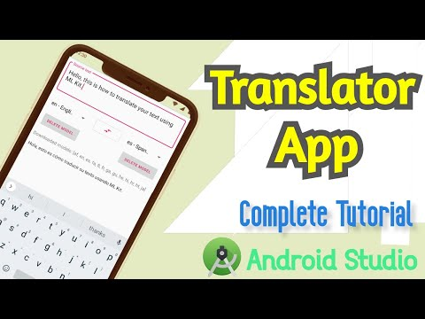 Google Translate App in Android Studio Complete Tutorial   Contact atulfbc@gmail.com for Source Code