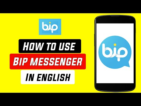 How to Use Bip Application    Bip Messaging Voice and Video Calling App