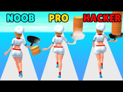 NOOB vs PRO vs HACKER in Chef Flipper
