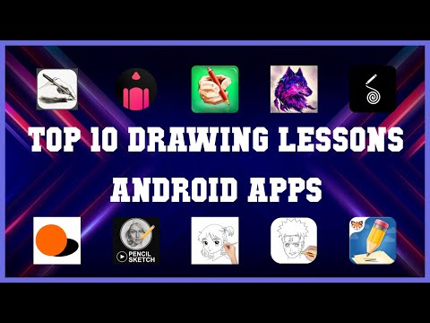 Top 10 drawing lessons Android App | Review