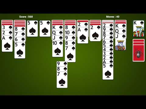 Spider Solitaire Android & iOS Gameplay