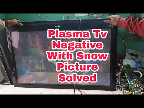 How to repair plasma 42inch#negative with snow picture #100%solved by sk Dalim & biswajit