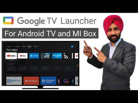 Google TV Launcher for Android TV | Google TV Launcher for MI Box 4K