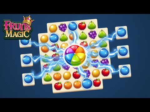 Fruits Magic Sweet Garden: Match 3 Puzzle Android Gameplay