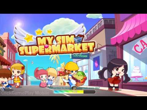 My Sim Supermarket - Gameplay -PART 1 /  Android / Casual / Mobile game