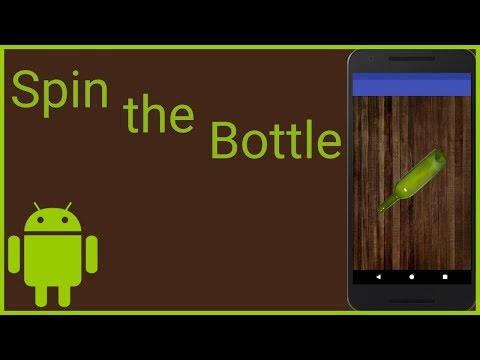 How to Build a Simple Spin the Bottle Game in Android Studio (Incl. Code and Image Files)