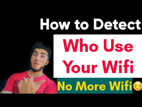 How to Detect who use your WiFi | Top apps to Detect who use your WiFi