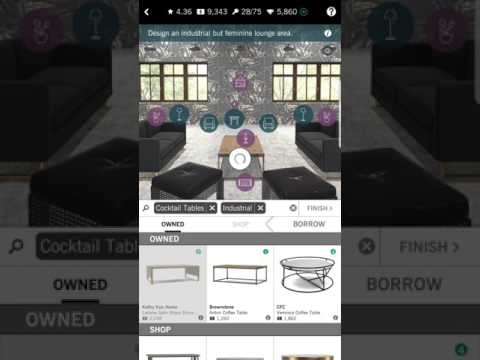 DESIGN HOME ANDROID APP GAMEPLAY IN 10 MINUTES